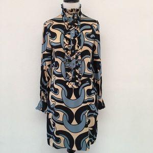 Diane von Furstenberg Eavan Silk Dress Size 2
